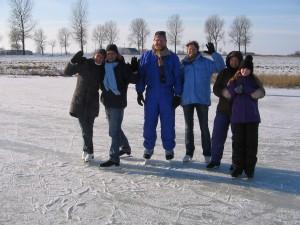 Eislaufen Nordsee