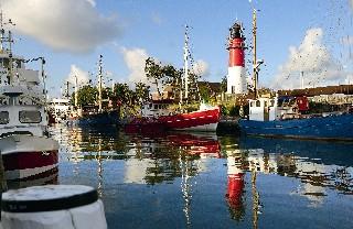 Der Hafen von Büsum (Quelle KTS Büsum)